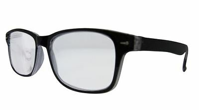 Strong Reading Glasses Wayfarer Extra Strength High Power Magnifying 823