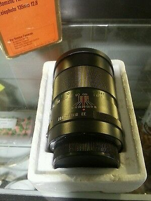 Vivitar 135mm f/2.8 telephoto lens, Konica AR mount, for Mirror-less With Box