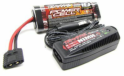 BANDIT VXL BATTERY & iD CHARGER 3000Mah 8.4V 7-Cell Hump Stampede Traxxas 2407