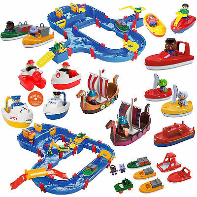 Big AquaPlay Waterplay Superset MegaBridge FIRE BRIGADE BOAT Wickie Select 1 ST