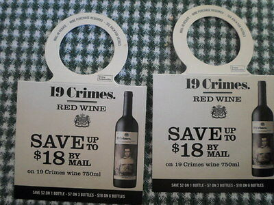 2-- 19 CRIME RED WINES BUY 6  SAVE UP TO $18.00 BY MAIL 4-7-15