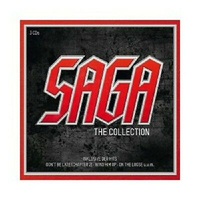 Saga - The Saga Collection 3 Cd 36 Tracks Rock Pop New+