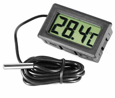 Thermomètre avec sonde Ecran digital LCD Aquarium