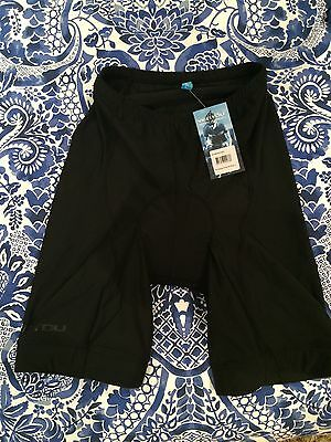 Ventou Classic Cycling Shorts (knicks) - Black RRP $100.00
