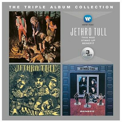Jethro Tull - The Triple Album Collection 3 Cd New+