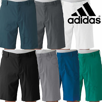 Adidas Mens Puremotion Stretch ClimaLite 3-Stripes Golf Shorts
