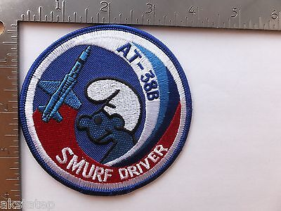 Usaf At-38B  Driver Swirl Patch (Afa-1)