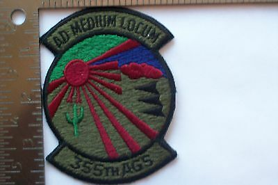 USAF 355th AGS ACFT GEN SQDN PATCH (T-1)