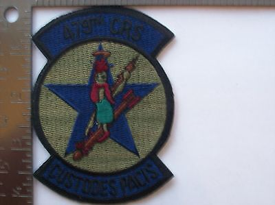 USAF 479th CRS PATCH (Subdued)  (AFJ-1)