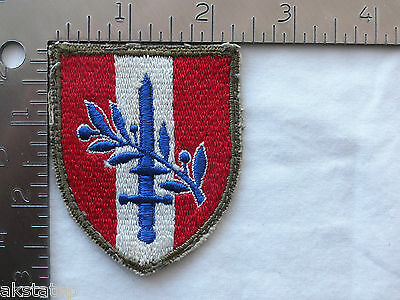US ARMY FORCES AUSTRIA  PATCH (USA-7) ORIGINAL WWII ERA / VINTAGE