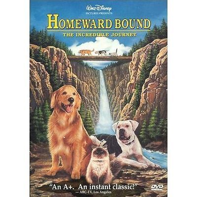 DISNEY HOMEWARD BOUND THE INCREDIBLE JOURNEY DVD WITH INSERT