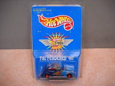 Hot Wheels 12th Collectors Convention Fat Fendered 40 Ford -MOC