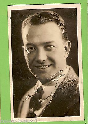 #f.  Movie Fan  Postcard -  Unknown Actor, Signed