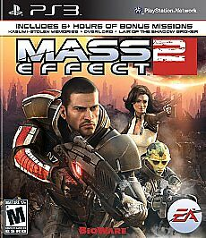 PS3 MASS EFFECT 2 BLACK LABEL PLAYSTATION 3 GAME BRAND NEW SEALED