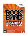 Wii ROCK BAND TRACK PACK COUNTRY 2 ROCKBAND BRAND NEW SEALED
