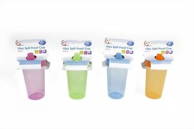 Spill Proof Toddler Baby Sipper Cup 10oz Tumbler BPA Free 12+ Months