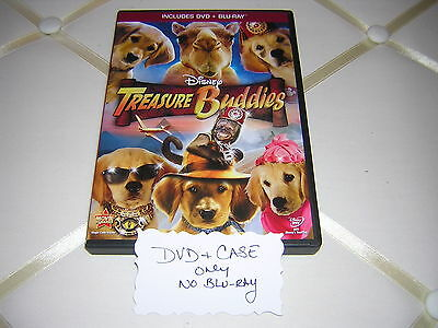 TREASURE BUDDIES DISNEY OFFICIAL DVD ONLY & DISNEY CASE NEVER PLAYED