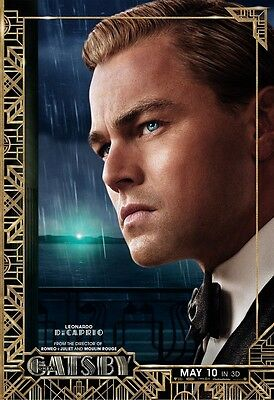 THE GREAT GATSBY movie poster LEONARDO DICAPRIO - 11 x 17 inches (style a)