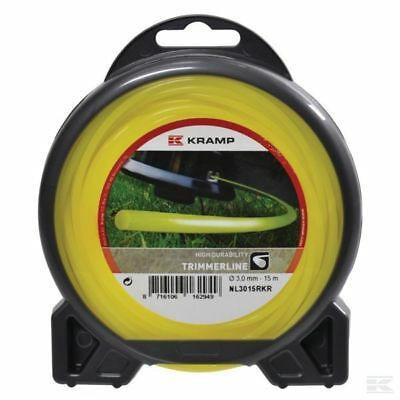 1.6mm x 15M HEAVY DUTY STRIMMER TRIMMER LINE CORD WIRE ***FREE POST***