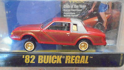 Revell 1/64th sc Lowrider magazine Red 1982 Buick Regal - MIP