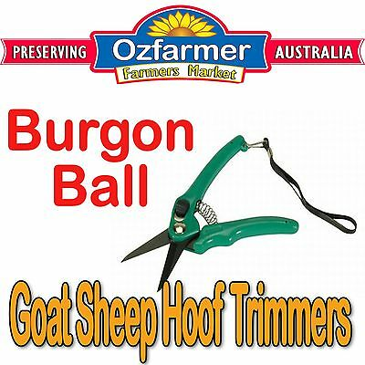 Burgon & Ball Hoof Shears Footrot Shear Goats Sheep Alpaca Cutters Knife