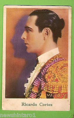 #F.  1927  Movie Fan  Card - Ricardo Cortez, Girls' Friend Magazine