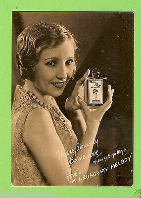 #f.  Movie Fan  Card - Bessie Love Perfume Advert., Arcadia Theatre, Lidcombe