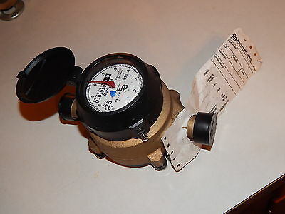 New 5/8 x 3/4 Badger RecordAll Water Meter RCDL 25