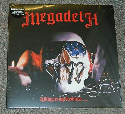 MEGADETH Killing Is My Business Record Store Day 2013 colored vinyl NEW SEALED