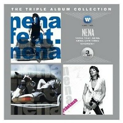 Nena - The Triple Album Collection (Nena Feat. Nena/nena Live/chokmah) 3 Cd New+