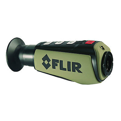 FLIR Scout II 320 Night Vision Thermal Monocular Imager System 320x240 9Hz 19mm