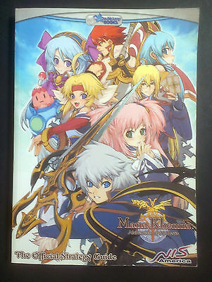 Mana Khemia: Alchemists of Al-Revis Official Strategy Guide - NEW - Sony PS2 -