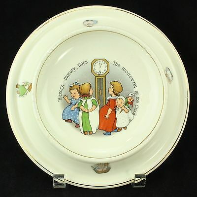"Vintage Child's Bowl, ""ROYAL BABY PLATE"" c1905, made in USA, ca.1920-30s"
