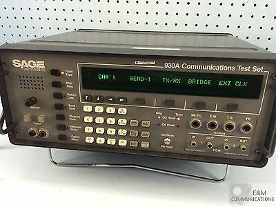 930A Sage Instruments Communication Test Set