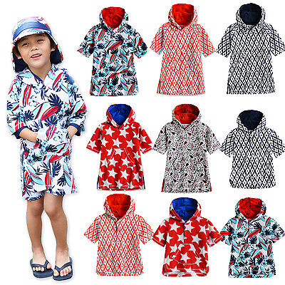 "Vaenait Baby Newborn Toddler Kids Swimming Terry Towel 2T-7T""Boys Swim Gown"""