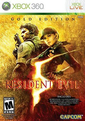 Capcom Resident Evil 5: Gold Edition Action/adventure Game - Xbox 360