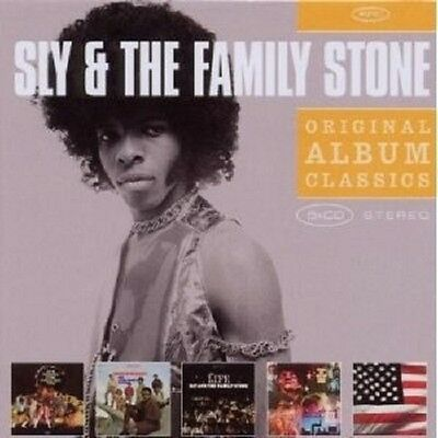 Sly & The Family Stone - Original Album Classics 5 Cd +++++++++++++New+