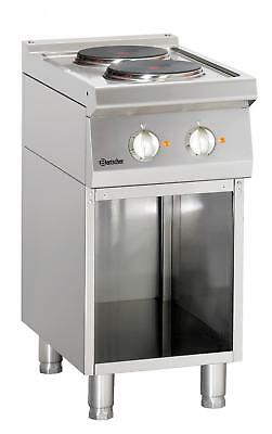Bartscher 286102 - Electric stove, 2 hot-plates Series 700