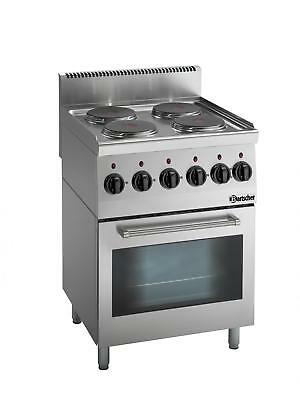 Bartscher 131764 - Electric stove, 4 hot-plates Series 600