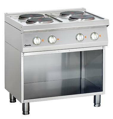 Bartscher 286104 - Electric stove, 4 hot-plates Series 700