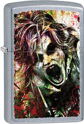 Zippo 2015 A Blood Spattered Zombie Whose Next Target Is You Lighter 28876 NEW