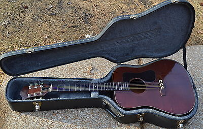 Vintage 1978 Guild D25M (Mahogany) Acoustic Guitar w/Grover Deluxe Tuners & Case