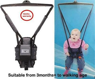 Br New Deluxe Jumper Jolly Jumping Joey with Door Clamp and Warranty Agenta
