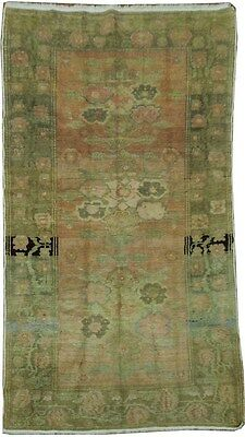 FADED 5x8 Hand Knotted Russian Antique Kazak Rug