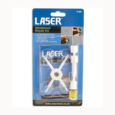 Laser Tools Windshield Repair Kit (5198) Windscreen Glass Chip / Crack