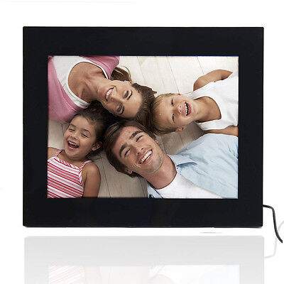 "15"" Inch LCD Screen Digital Photo Picture Alum Frame 1024*768 Black"