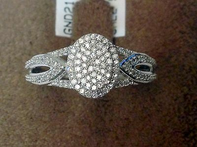 White Gold Oval Halo Vintage Antique Micro Pave Style Diamond Engagement Ring