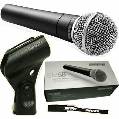 Shure SM58 Dynamic Microphone - Australian Authorised Shure Reseller