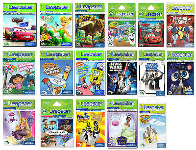 Leapfrog Leapster Learning Game Cartridge  ~Various types~ (Mixed ages)