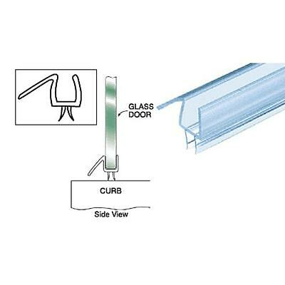 """CRL Clear Co-Extruded Bottom Wipe with Drip Rail for 3/8"""" Glass 3 PACK 32 5/8"""""""